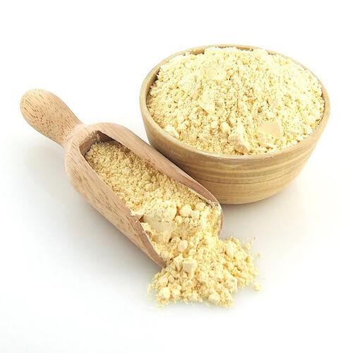 Gram flour skincare