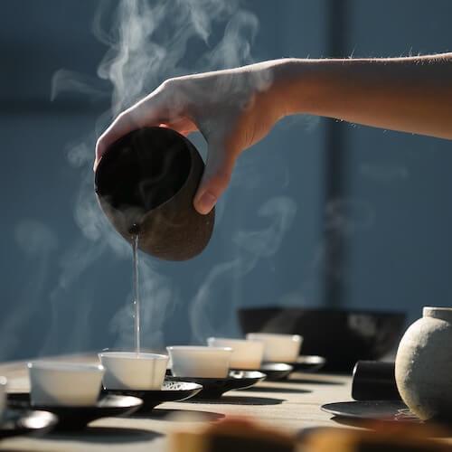 gut health and acne tea