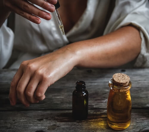 Get rid of dry skin- massage