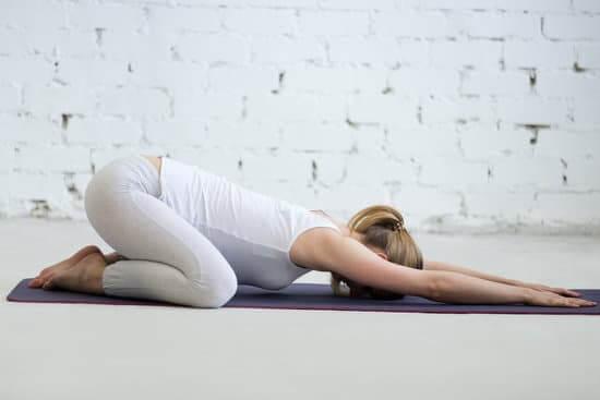 Child's pose- Yoga for immunity
