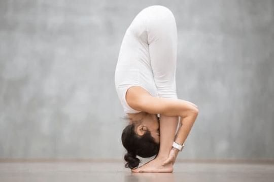 Forward bend- Yoga for immunity