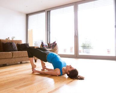 Bridge- Yoga for immunity